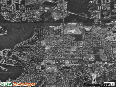 Bellair-Meadowbrook Terrace satellite photo by USGS