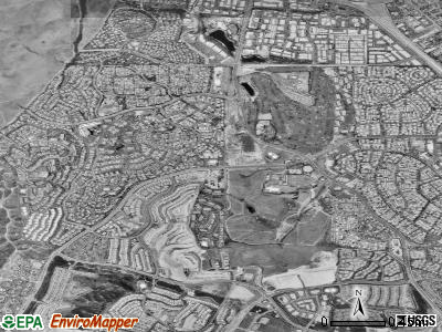 Laguna Woods satellite photo by USGS