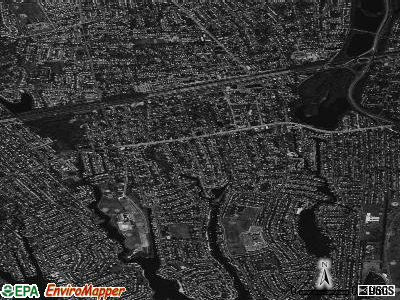 Bellmore satellite photo by USGS