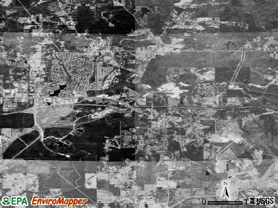 Brandon satellite photo by USGS