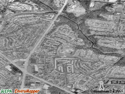 Langley Park satellite photo by USGS