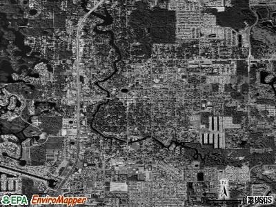 New Port Richey satellite photo by USGS