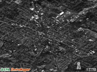 Lansdale satellite photo by USGS