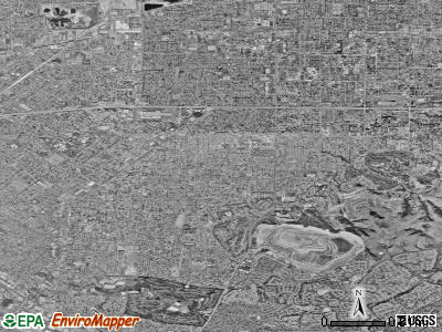Berkeley satellite photo by USGS