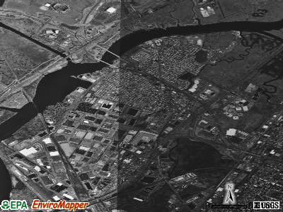 Secaucus satellite photo by USGS