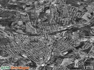 Greensburg satellite photo by USGS