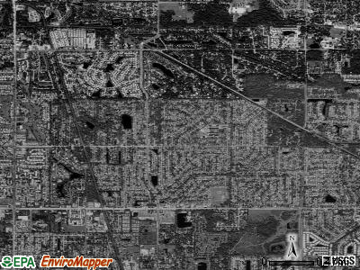Sarasota Springs satellite photo by USGS