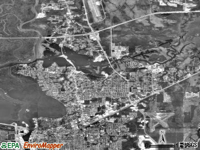 Moss Point satellite photo by USGS
