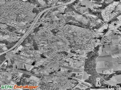 Beltsville satellite photo by USGS