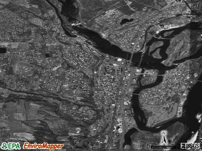 Cohoes satellite photo by USGS