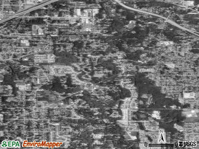 Alderwood Manor satellite photo by USGS