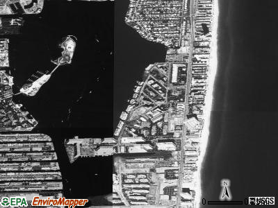 Sunny Isles Beach satellite photo by USGS