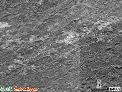 Greeneville satellite photo by USGS