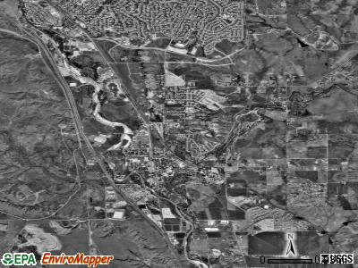 Fountain satellite photo by USGS