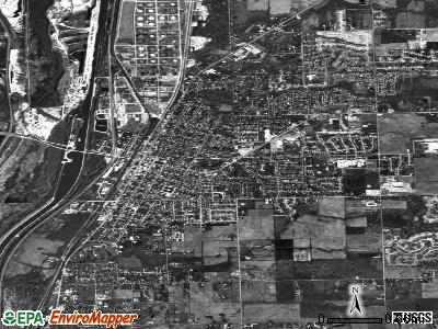 Lockport satellite photo by USGS