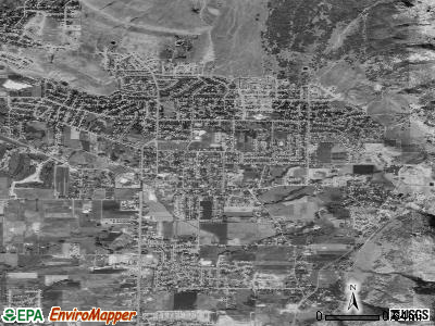 North Ogden satellite photo by USGS