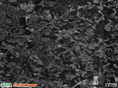 Mint Hill satellite photo by USGS