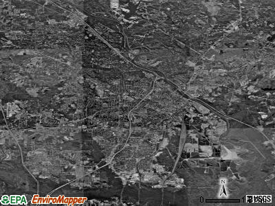 Macon satellite photo by USGS