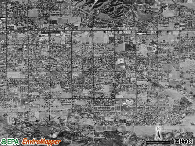 East Hemet satellite photo by USGS