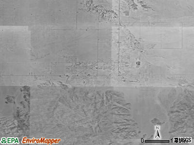Twentynine Palms satellite photo by USGS
