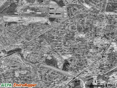 Hyattsville satellite photo by USGS