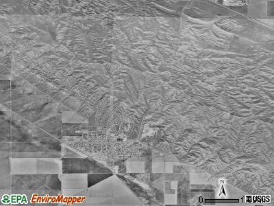 Avenal satellite photo by USGS