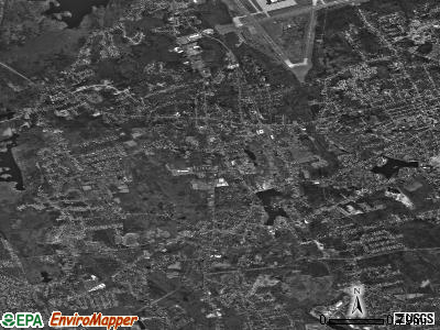 Abington satellite photo by USGS