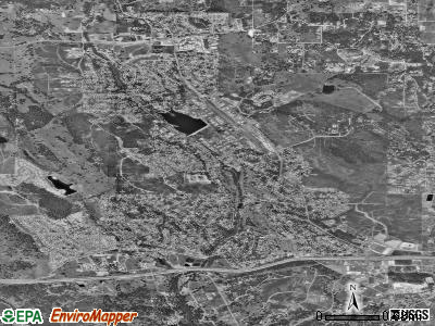 Cameron Park satellite photo by USGS