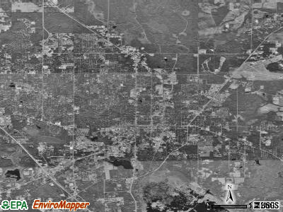 Gainesville satellite photo by USGS