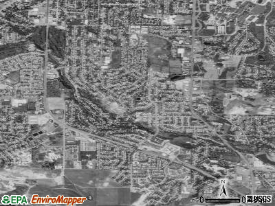 South Ogden satellite photo by USGS