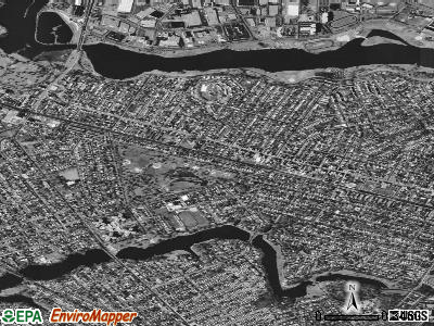 Collingswood satellite photo by USGS