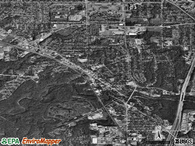 Bedford satellite photo by USGS