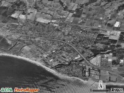 Carpinteria satellite photo by USGS