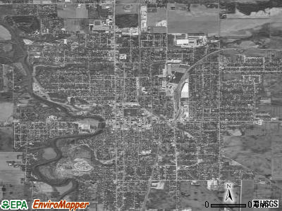 Streator satellite photo by USGS