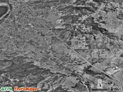 Wildomar satellite photo by USGS
