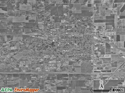Sunnyside satellite photo by USGS