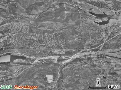 Truckee satellite photo by USGS