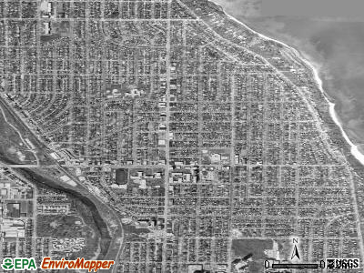 Shorewood satellite photo by USGS