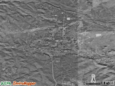 Payson satellite photo by USGS