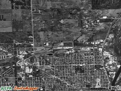 Crest Hill satellite photo by USGS