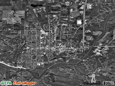 Murphysboro satellite photo by USGS
