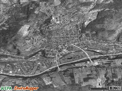 Oneonta satellite photo by USGS
