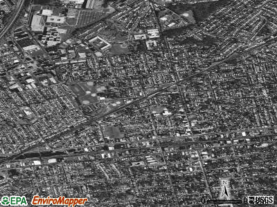 Roselle Park satellite photo by USGS