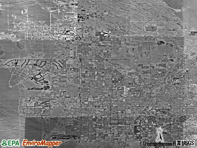 Oklahoma City satellite photo by USGS