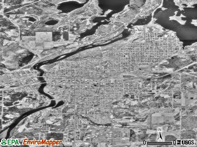 Brainerd satellite photo by USGS