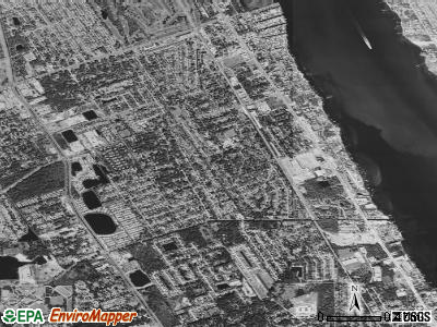 South Daytona satellite photo by USGS
