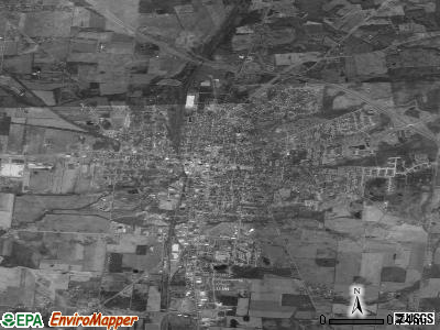 Bellefontaine satellite photo by USGS