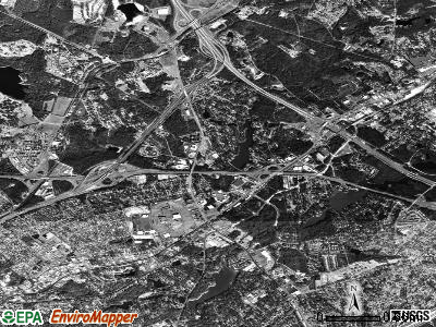 Dentsville satellite photo by USGS