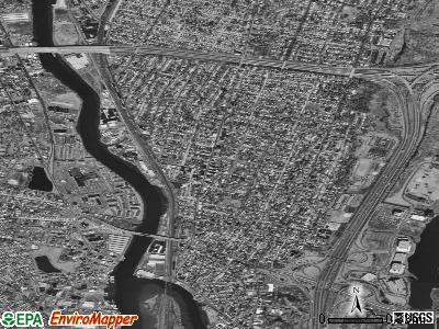 Ridgefield Park satellite photo by USGS