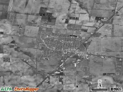 Robstown satellite photo by USGS